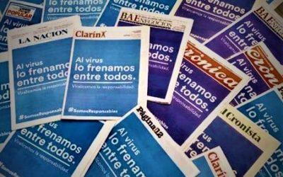 Argentina: tutti i giornali, un'unica copertina!